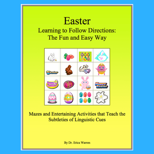 Following Directions the Fun and Easy Way Easter Digital Download