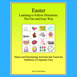 Cover of Easter Following Directions Activities