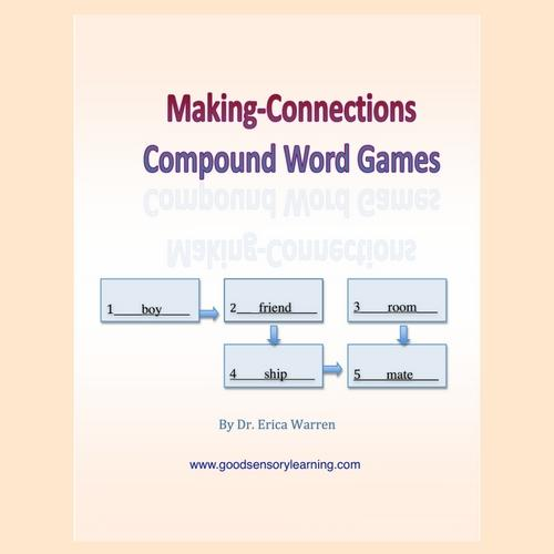 Compound Words Games Making Connections Digital Download