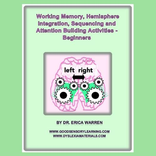 Working Memory, Hemisphere Integration and Attention - Beginners Digital Download