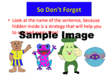 4 characters help kids recall the sentence types