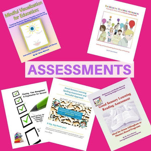 Collage of 5 assessment publications