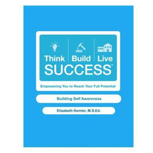 Cover of a blue handbook: Building Self Awareness