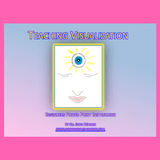 Teaching visualization cover shows a face with an eye in the forehead.