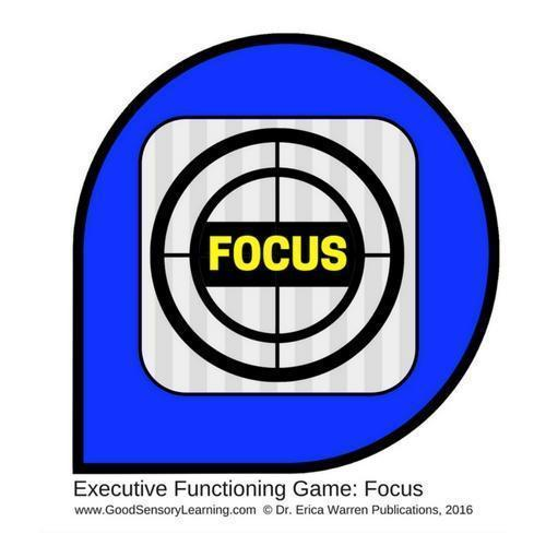 Blue Symbol of Focus Game