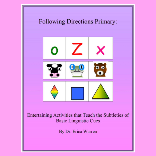 Grid of objects on following directions primary cover