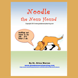 Cover of Noodle the noun hound sniffing out nouns