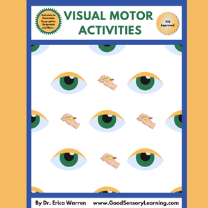 Visual Motor Activities for Dysgraphia and Dyspraxia