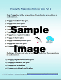 Sample preposition activity