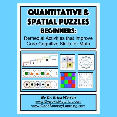 Quantitative and Spatial Puzzles | Good Sensory Learning