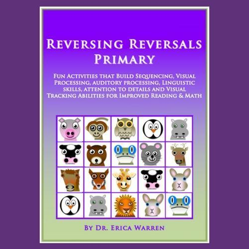 Purple cover with animals for Reversing Reversals Primary Publication
