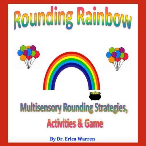 Rounding Rainbow cover page with a rainbow and balloons