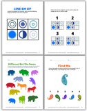 Pages from Visual Sequencing and Form Constancy Activities