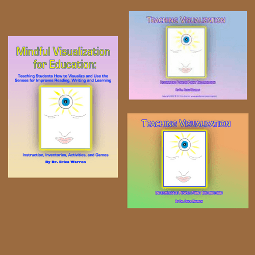 Collage of three visualization publications all show a face with an eye in the middle of the forehead