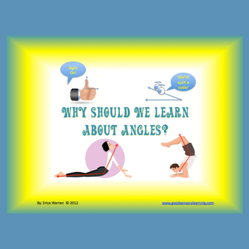 Cover of Angles PowerPoint