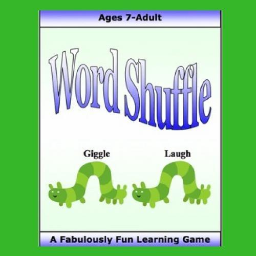 Cover image of Word Shuffle game with two caterpillars