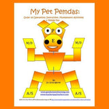 Cover image of a pet mobile that helps kids learn order of operations