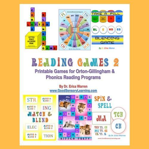 Reading Games 2 remedial reading games