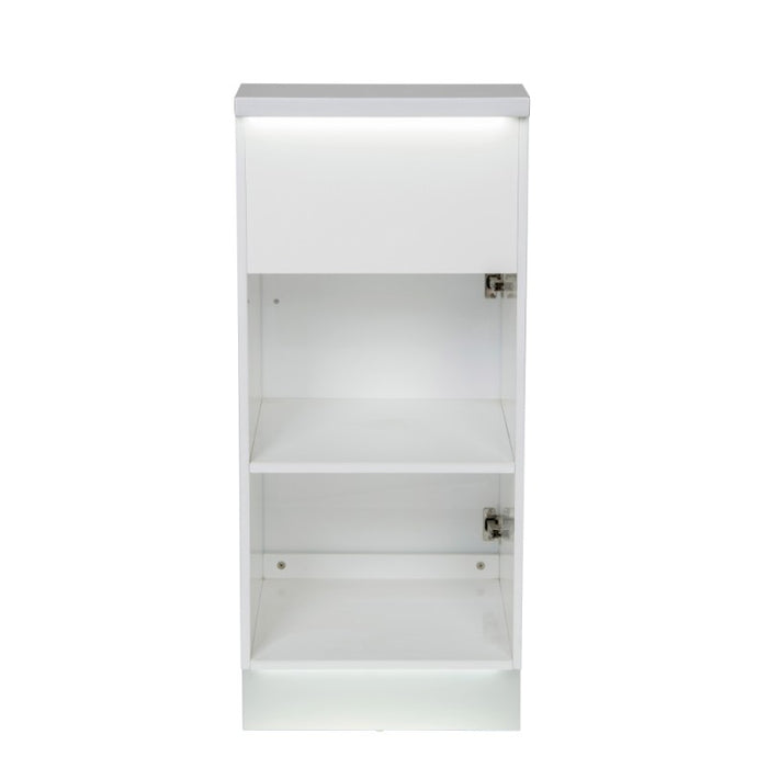 White Janus Display Cabinet
