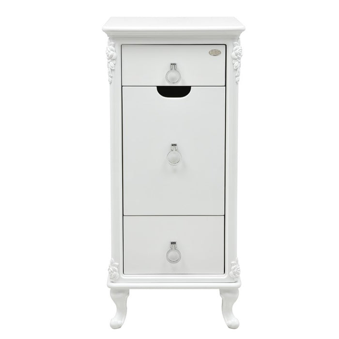 White Florence Salon Trolley