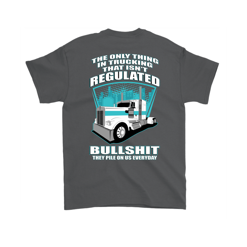 Trucker Regulations Bullshit KW
