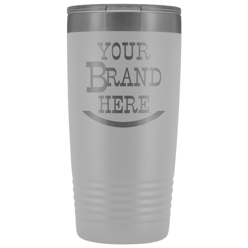 Your Brand Here 20oz Tumbler Free Shipping