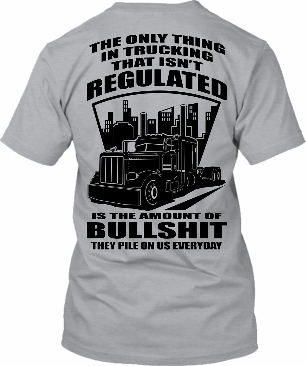 The Only Thing in Trucking Regulated Bullshit Pete