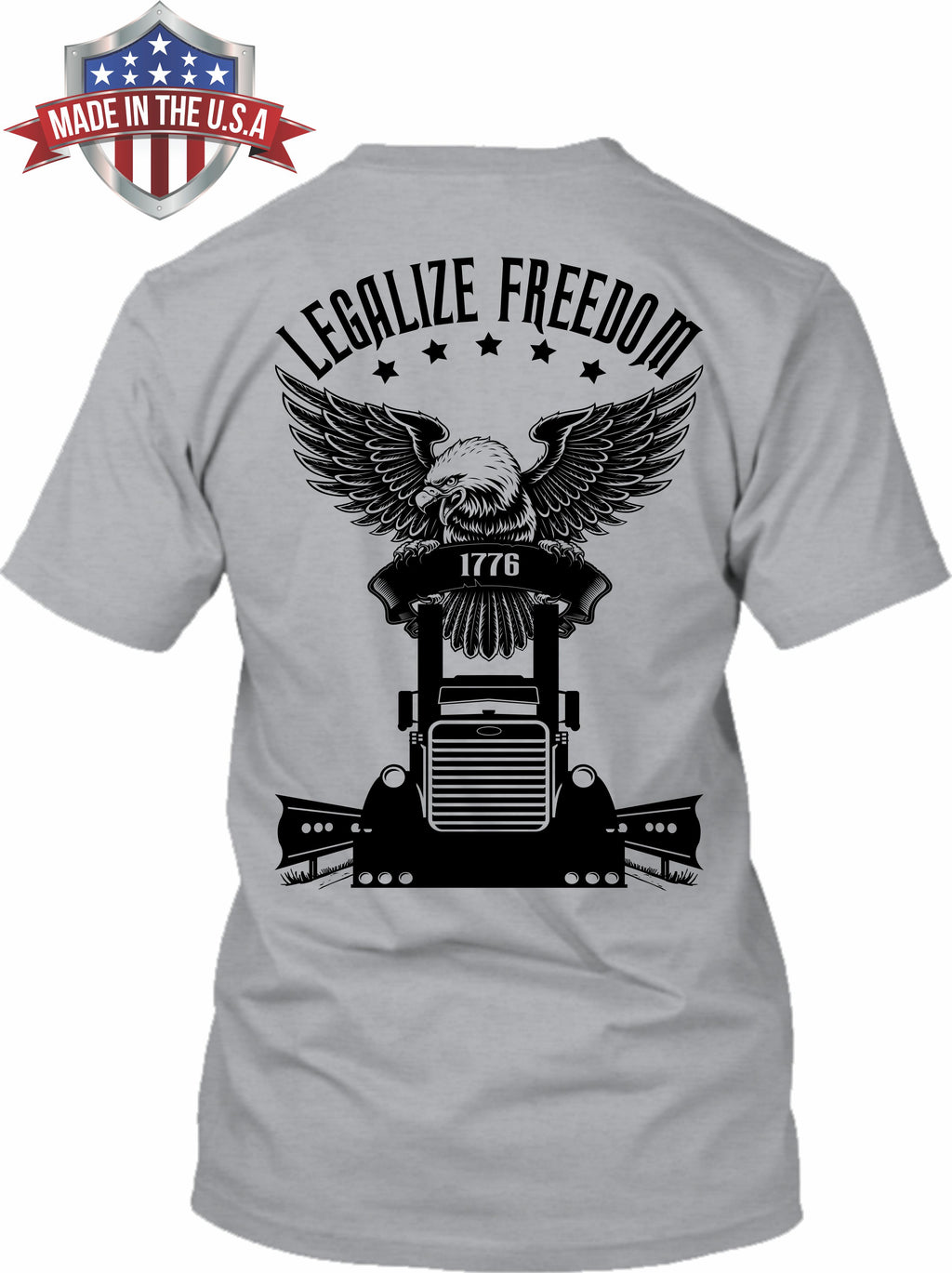 Legalize Freedom 1776 Pete - Made in the USA