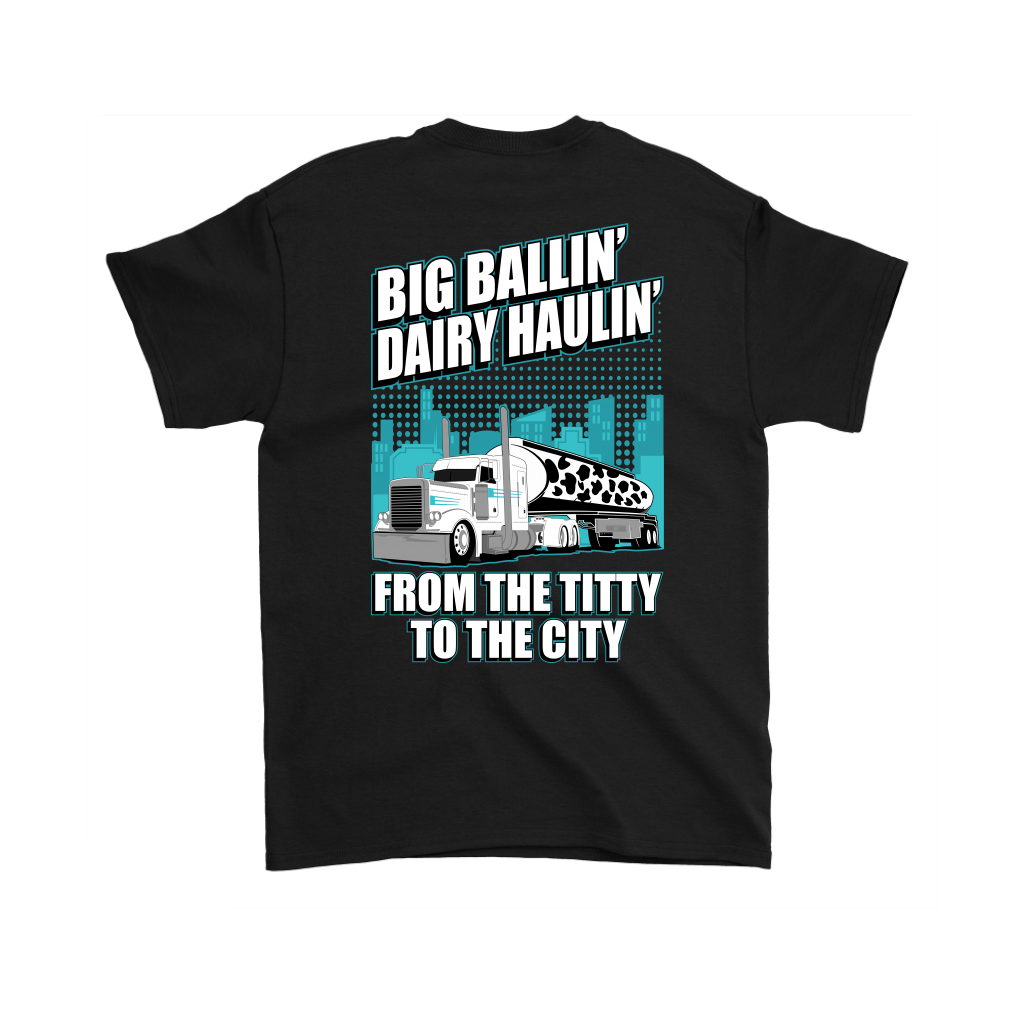 Big Ballin' Dairy Haulin' Pete Titty to the City