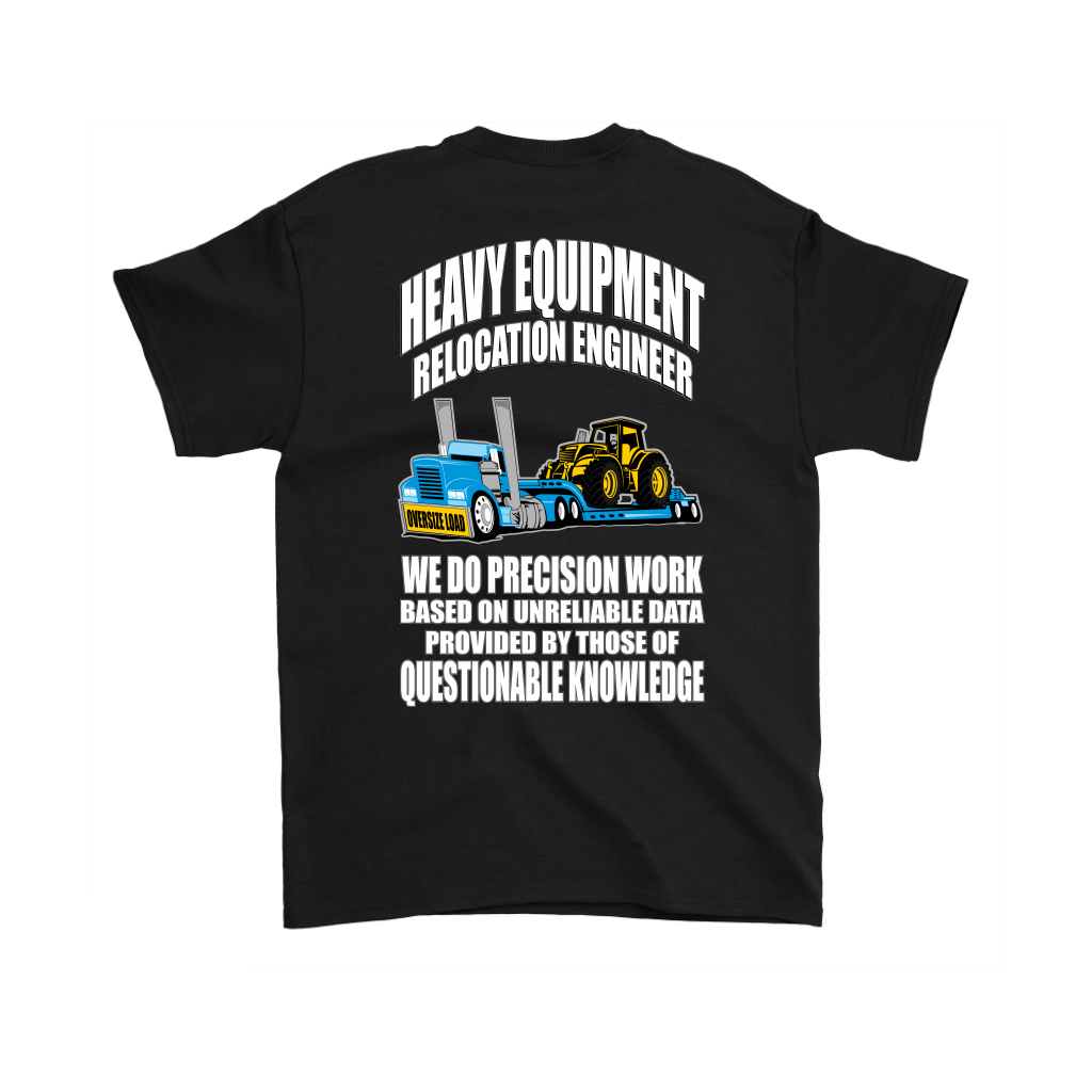 Lowboy Heavy Equipment Engineer Over Size Load