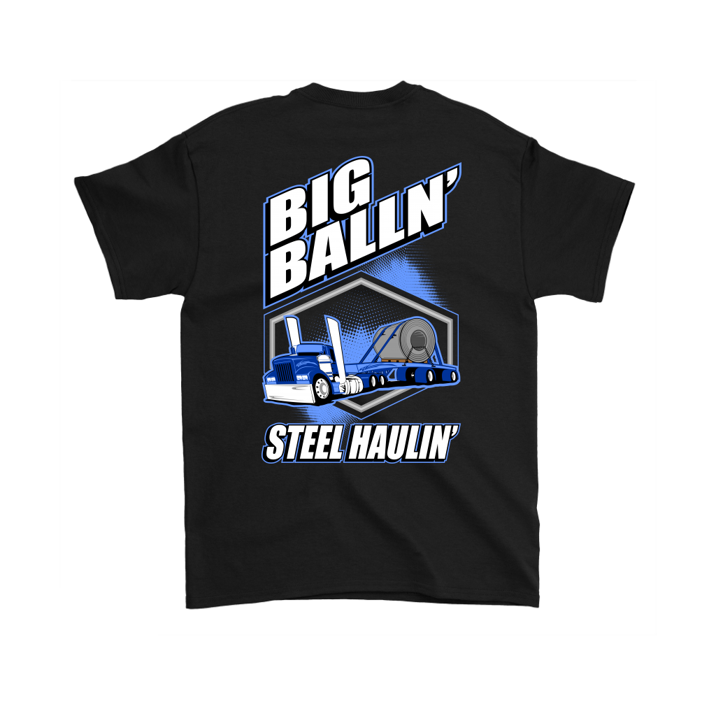 Big Ballin' Steel Haulin' Hot Rod Flatbedder