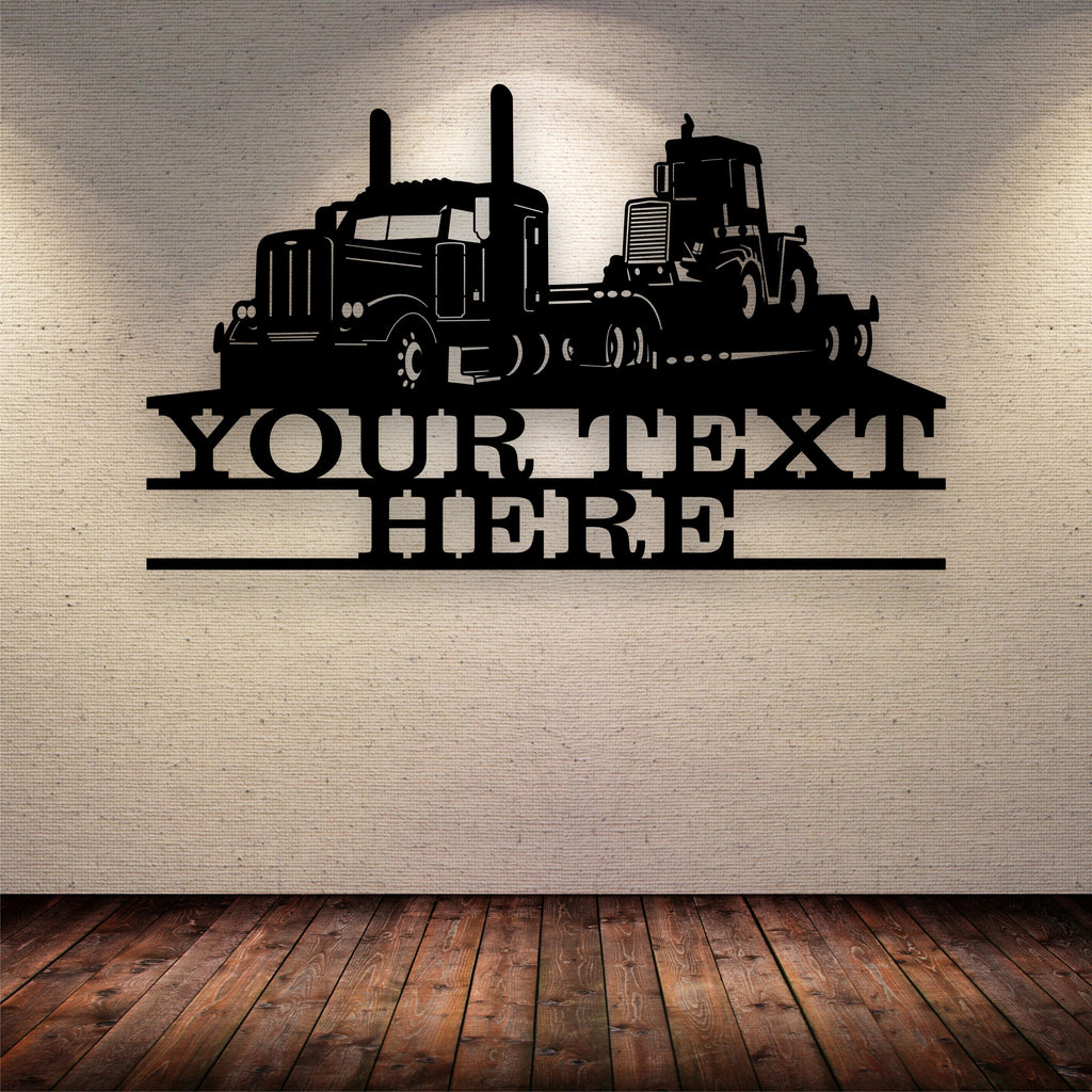 Lowboy Pete Your Text Here Metal Wall Art Free Shipping