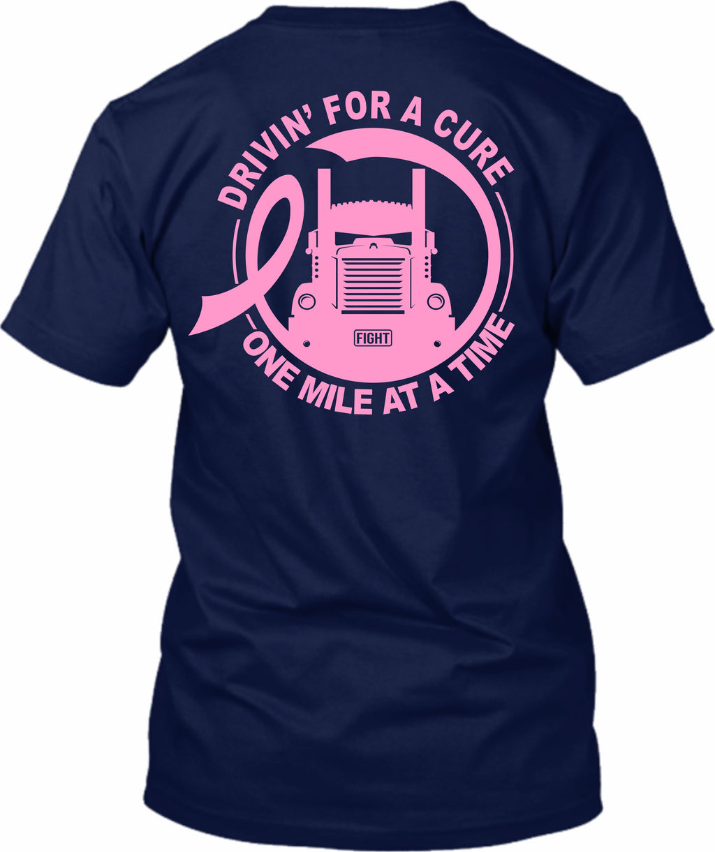 Drivin' for a Cure One Mile At A Time Breast Cancer KW