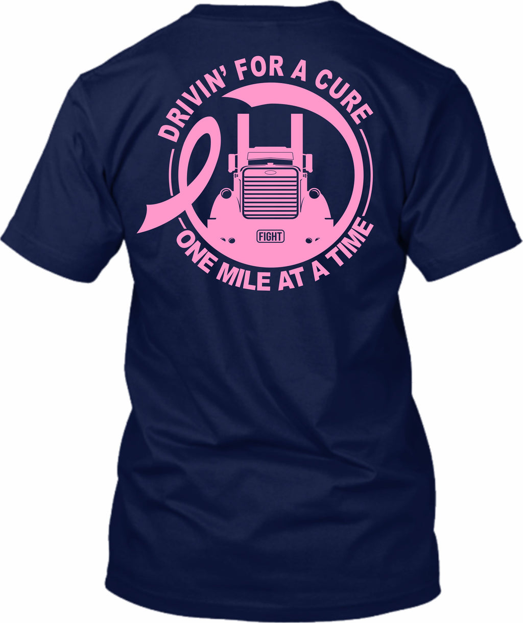 Drivin' for a Cure One Mile At A Time Breast Cancer Pete