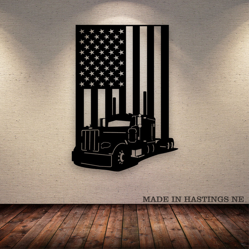 Pete 379 American Flag Metal Wall Art Free Shipping