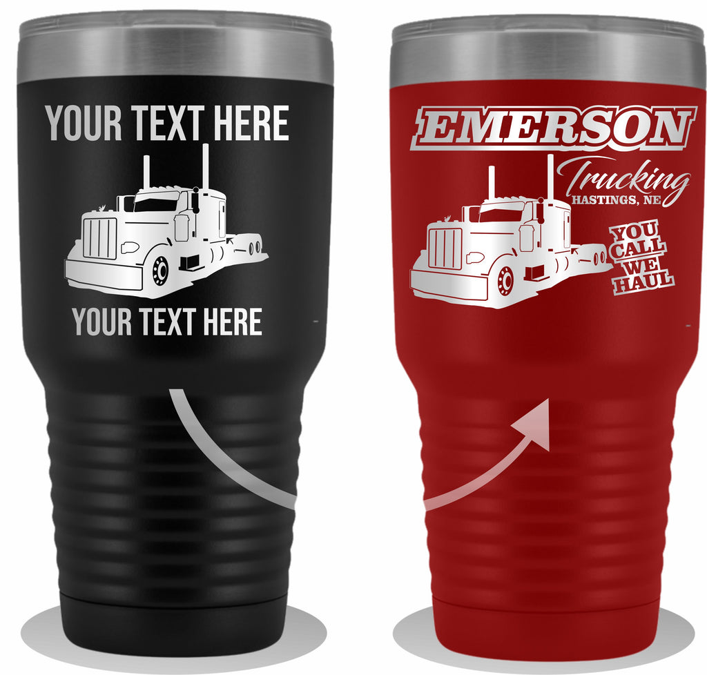 Pete Your Text Here 30oz. Tumbler Free Shipping