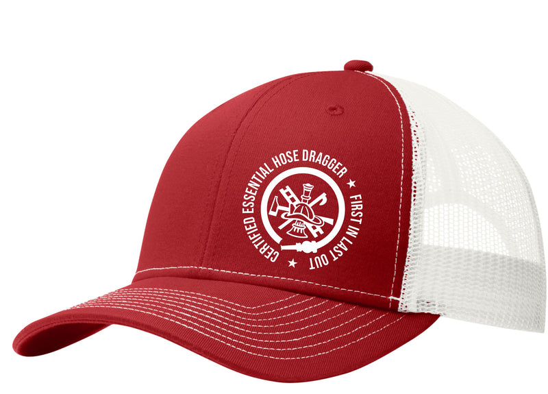 Certified Essential Hose Dragger Mesh Back Hat Free Shipping
