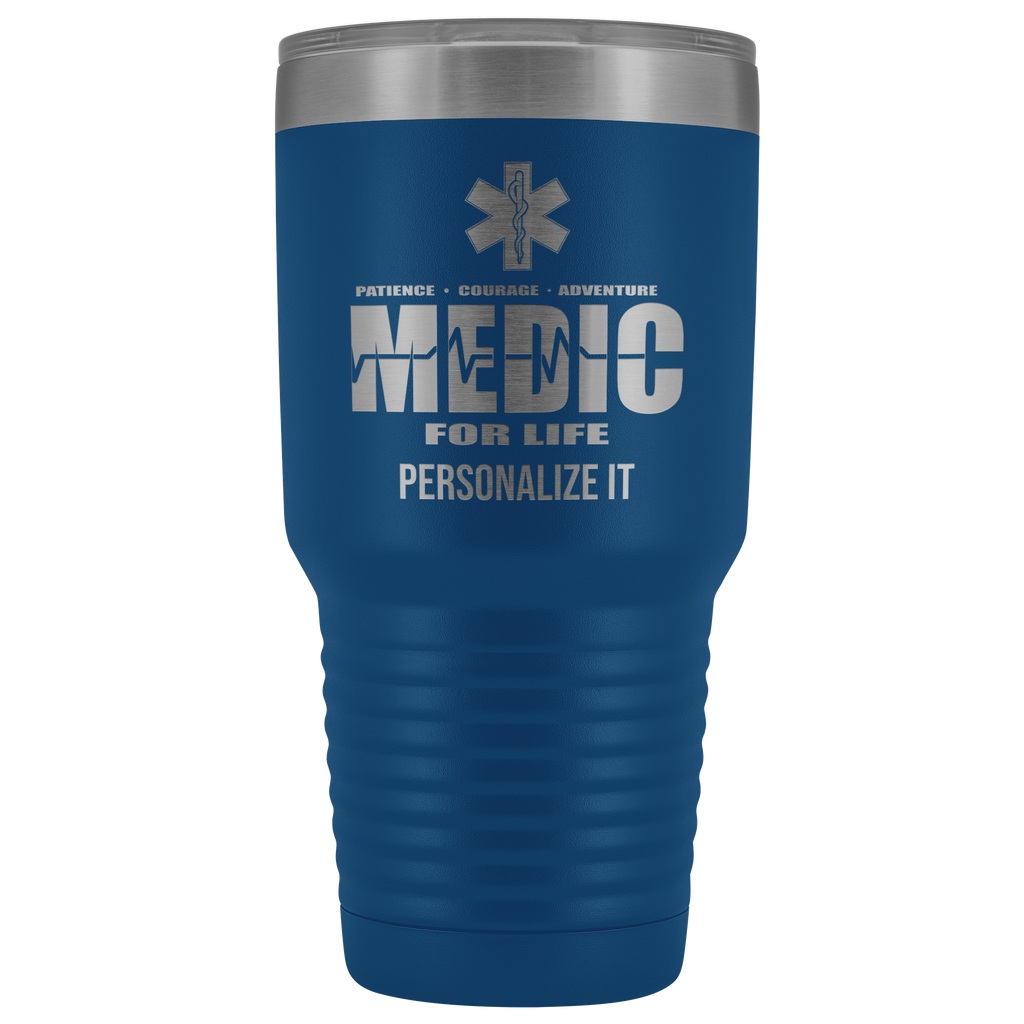 Medic For Life Personalized Tumbler