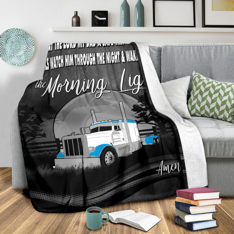 Pete The Morning Light Fleece Blanket Free Shipping