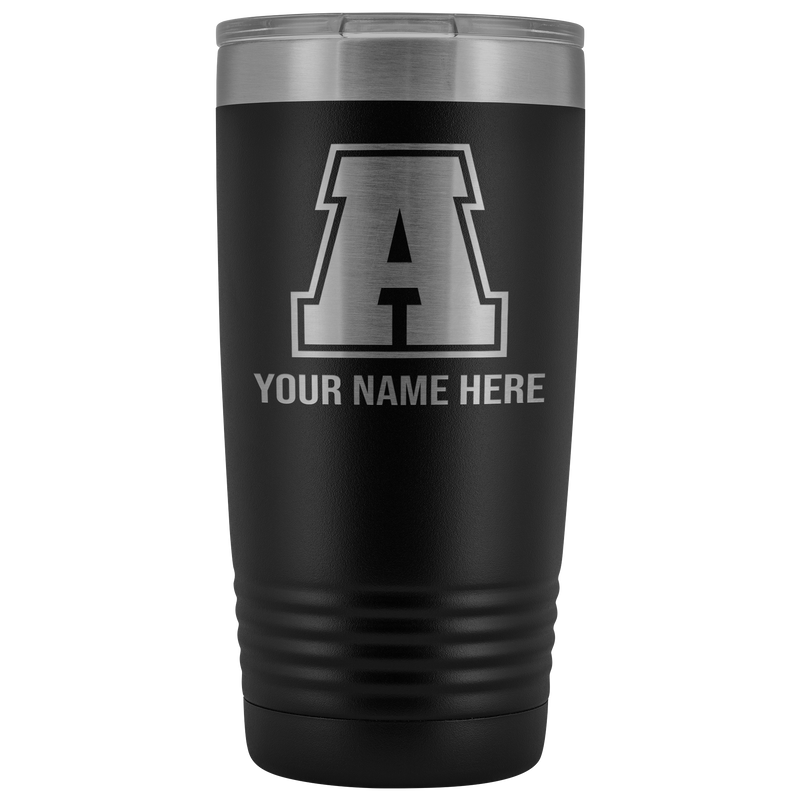 Initial Letter A 20oz Tumbler Free Shipping