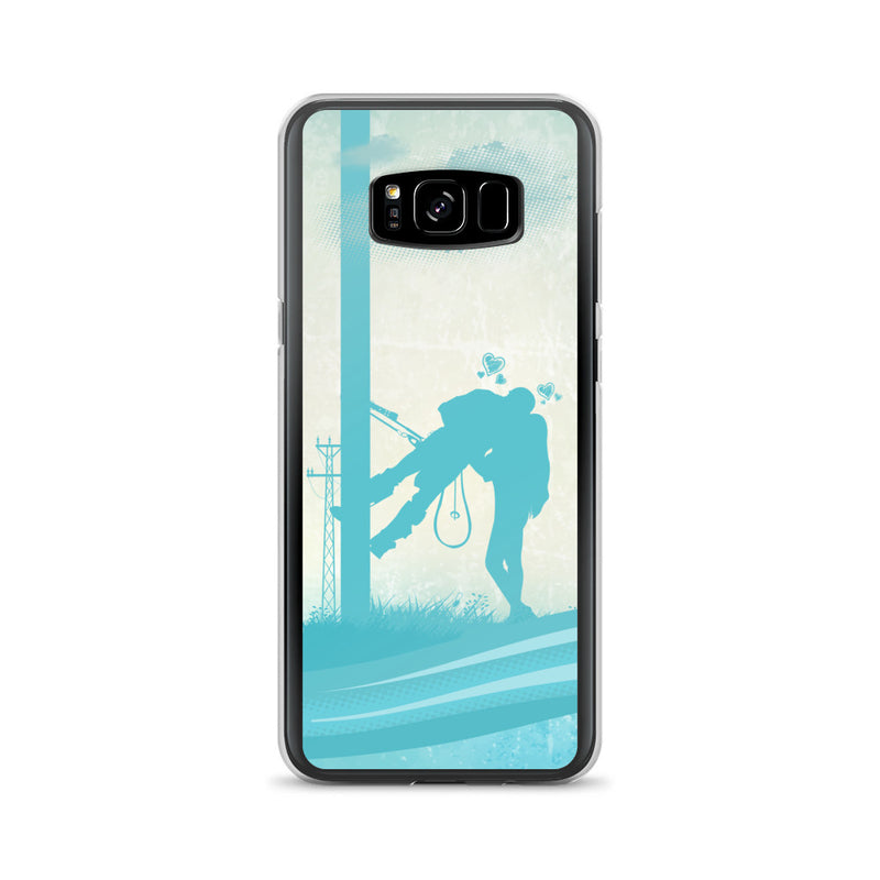 Lineman Kiss Samsung Phone Case Free Shipping