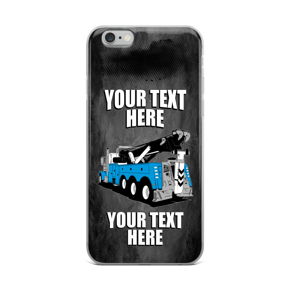 Wrecker Tow Truck Your Text Here iPhone Case Free Shipping