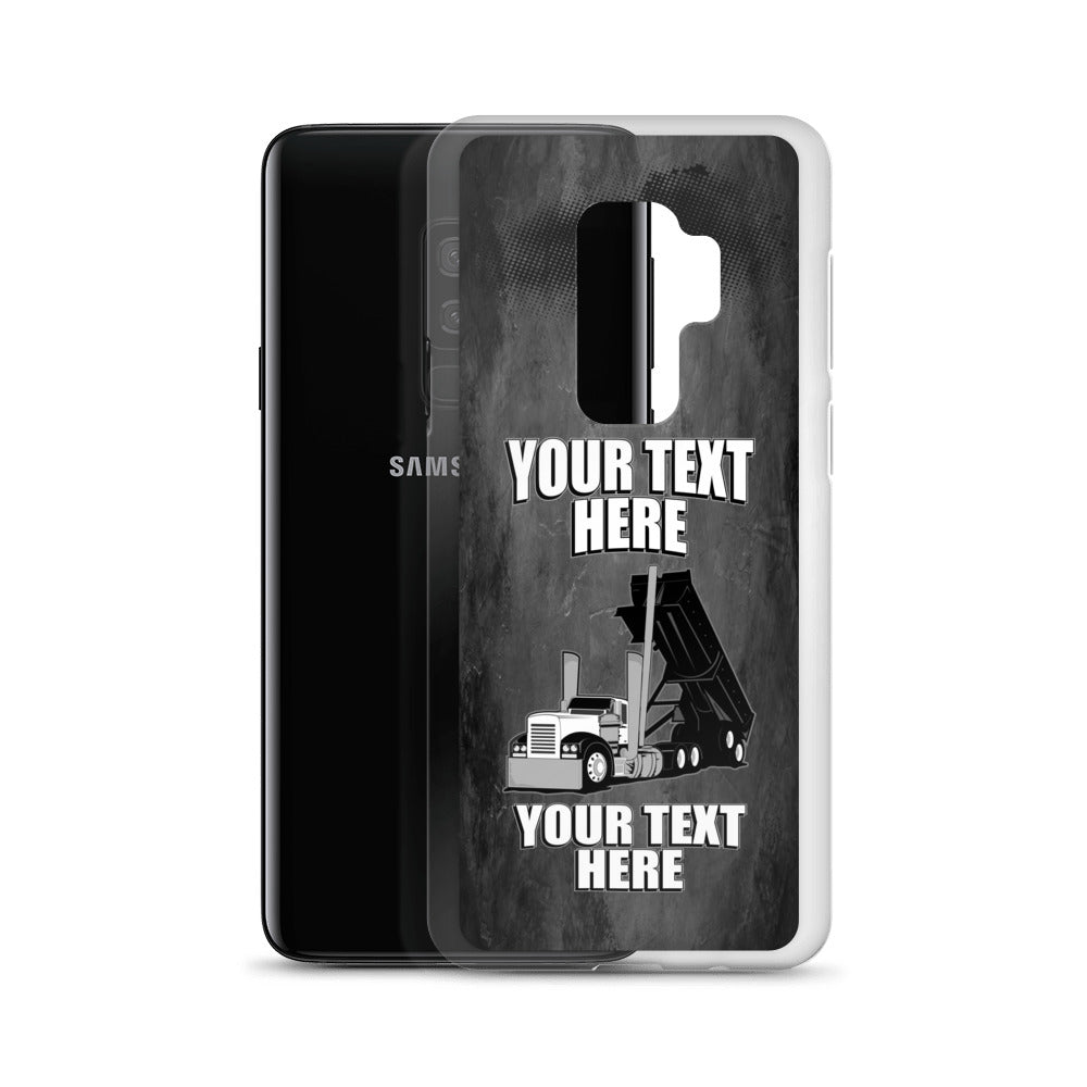 End Dump Your Text Here Samsung Phone Case Free Shipping
