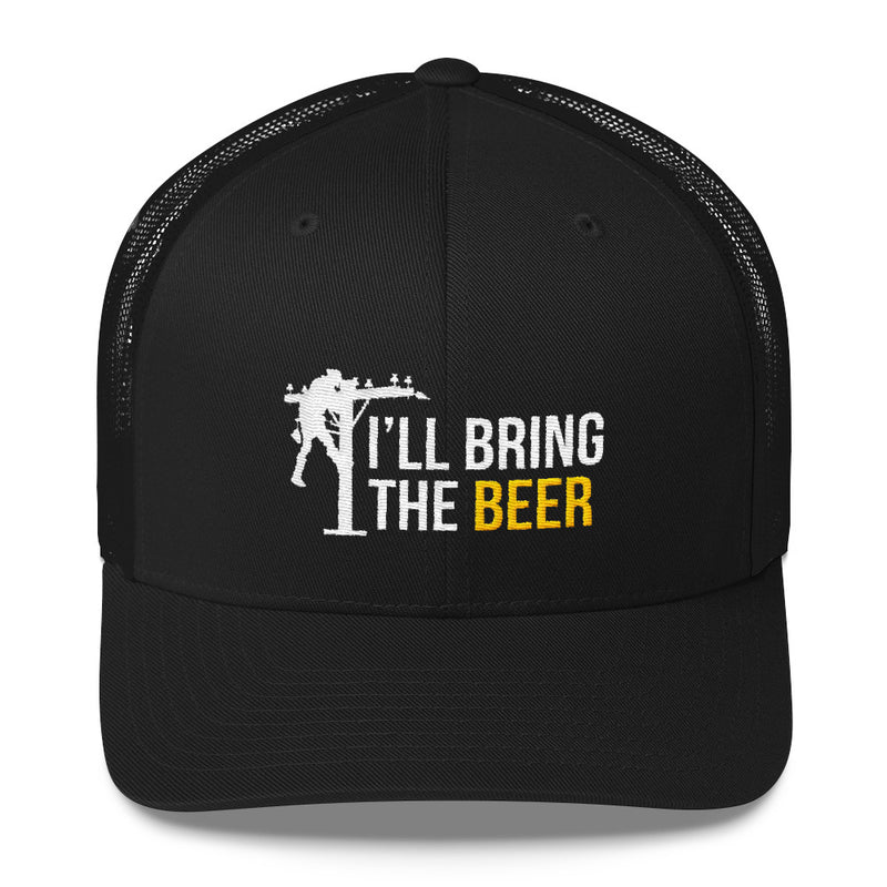 I'll Bring the Beer Lineman Snapback Hat Free Shipping