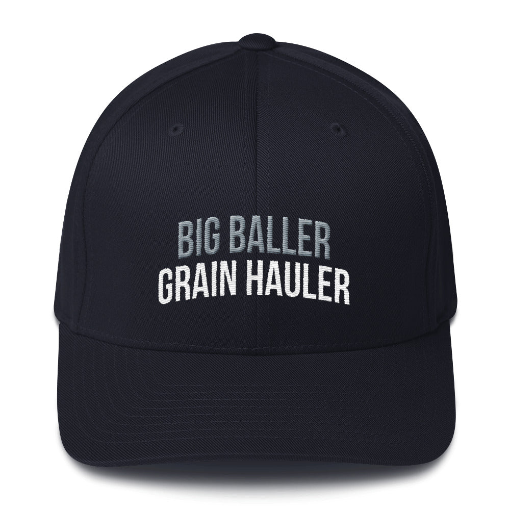 Big Baller Grain Hauler Flexfit Hat Free Shipping