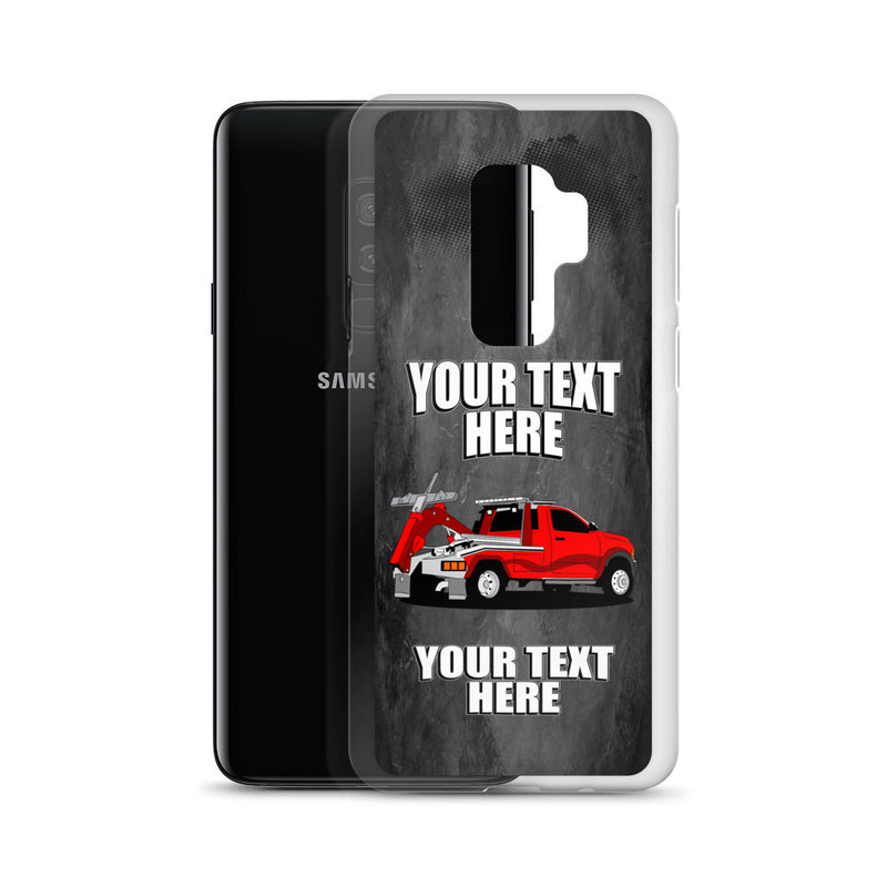 Tow Truck Your Text Here Samsung Phone Case Free Shipping