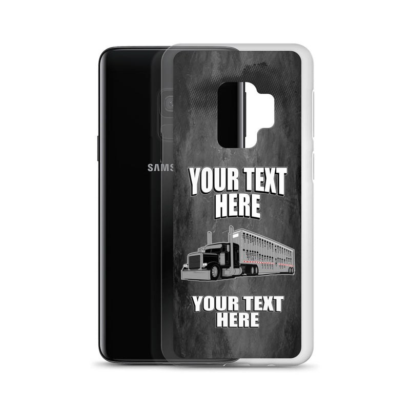 Bull Hauler Pete Your Text Here Samsung Case Free Shipping