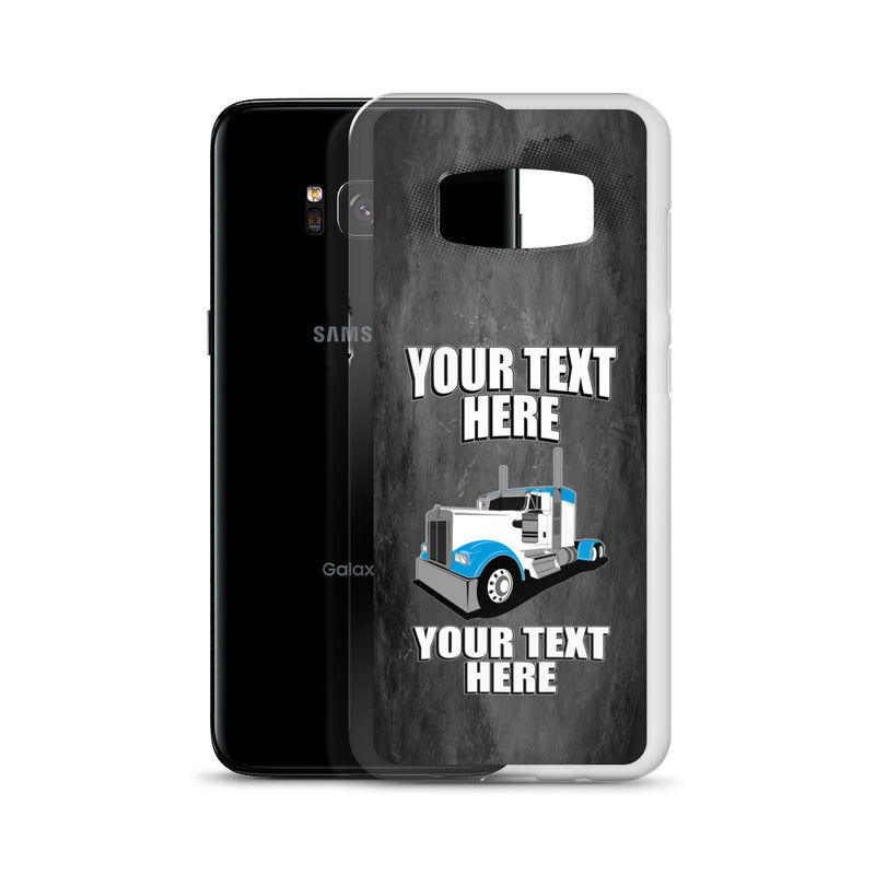 KW Your Text Here Samsung Phone Case Free Shipping