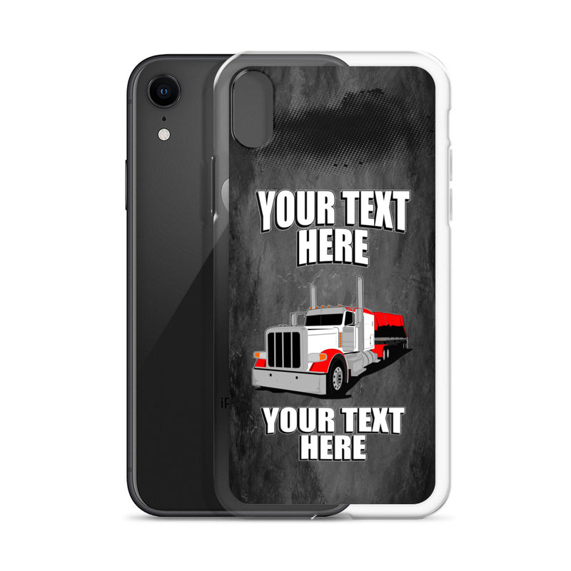 Flatbed Pete Your Text Here iPhone Case Free Shipping