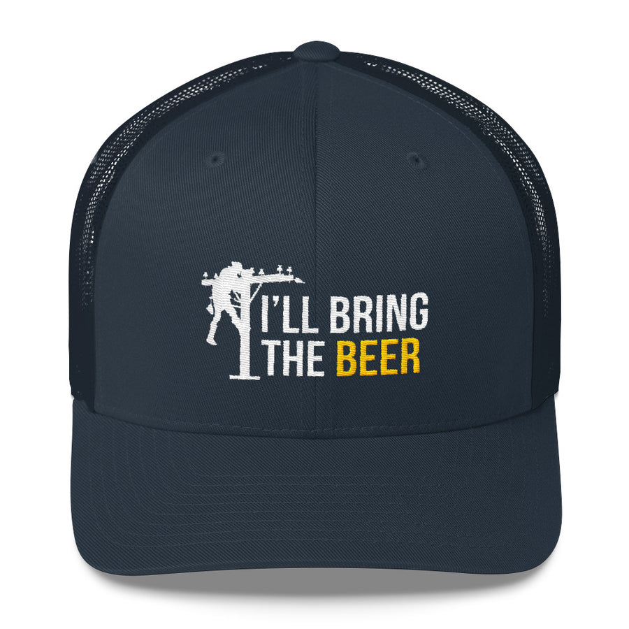 I ll Bring the Beer Lineman Snapback Hat Free Shipping – Big Rig Threads 8dfe0efa178